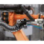 Kompletne rozwiązania do robotów spawalniczych dress-pack Automotive Production Support