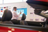 NEC  technologia wyświetlania obrazu Automotive Production Support