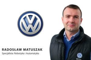 Radosław Matuszak Volkswagen Poznań w gronie prelegentów Automotive Production Support 2017