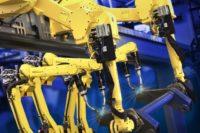 ArcMate100iC Quad robot welding