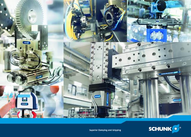 Sytem wymiany narzędzi na SWS na robocie Automotive Production Support 2017