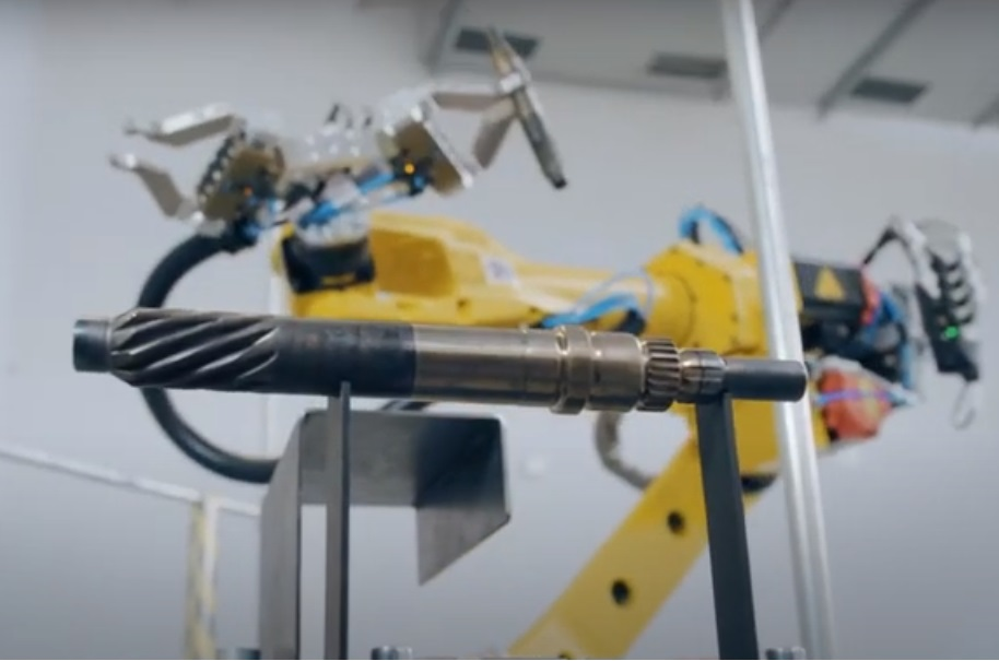 FANUC robots are used at the car parts supplier Nexteer Automotive_APS