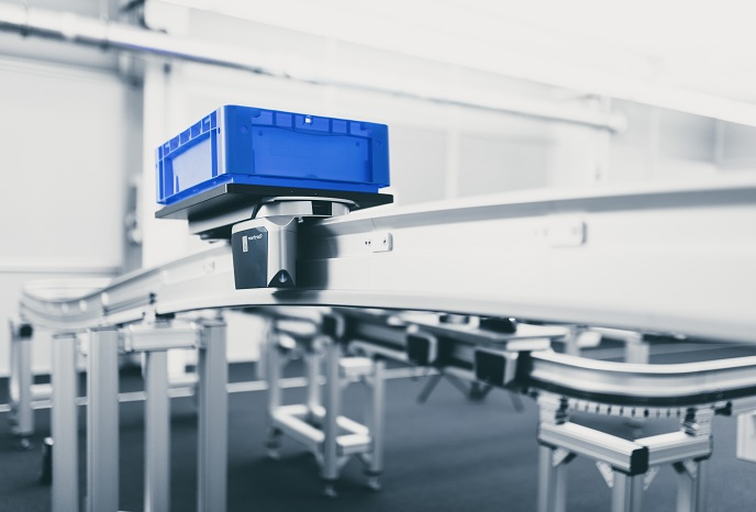 Intralogistyka zorientowanana przyszłość 4.0 cyfrowe systemy shuttle firmy montratec GmbH