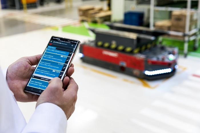 Faurecia Frames w Wałbrzychu powiększa flotę autonomicznych robotów transportowych_Automotive_Production_Support v3